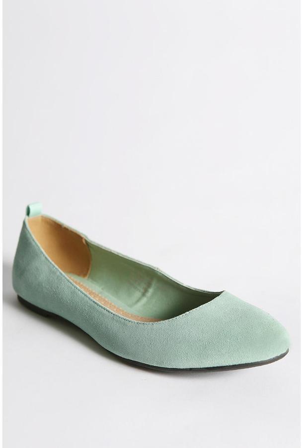 Kimchi Blue Suede Ballet Flat