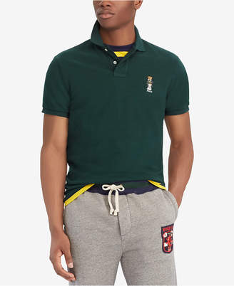 Polo Ralph Lauren Men's Classic Fit Cotton Polo Bear Shirt