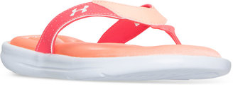 Under Armour Women's Marbella V Thong Sandals from Finish Line $29.99 thestylecure.com