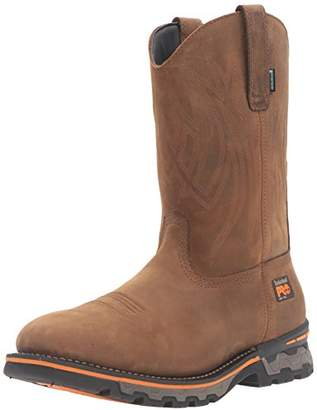 Timberland Men's Ag Boss Square Soft Toe Waterproof Pull-on Industrial and Construction Shoe, , 11.5 W US