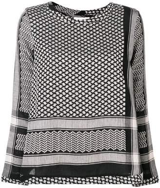 Cecilie Copenhagen straight fit blouse