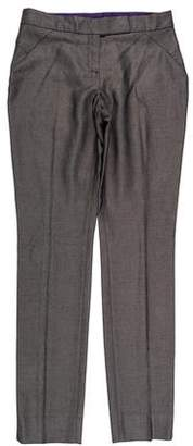 Ted Baker Mid-Rise Straight-Leg Pants