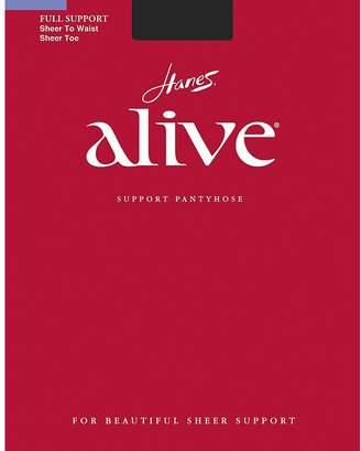 Hanes Women`s Set of 3 Alive Sheer to Waist Pantyhose - Best-Seller!