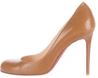 Christian Louboutin  Christian Louboutin Leather Prorata 90 Pumps