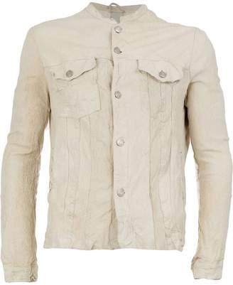 Giorgio Brato wrinkled effect jacket