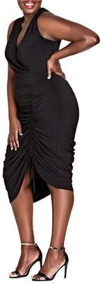 City Chic Sexy Curve Jersey Body-Con Dress