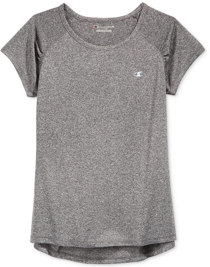 Champion High-Low-Hem T-Shirt, Big Girls (7-16)