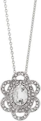 Lauren Conrad Simulated Crystal Flower Pendant Necklace