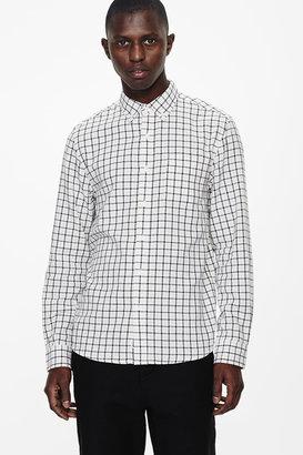 Saturdays NYC Crosby Button Down Tatersall Shirt