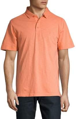 Izod Solid Dockside Slub Polo Shirt