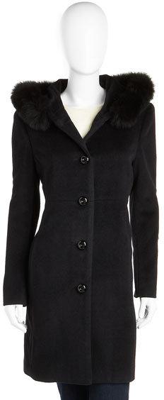 DD Dale Dressin Fur-Collar Coat