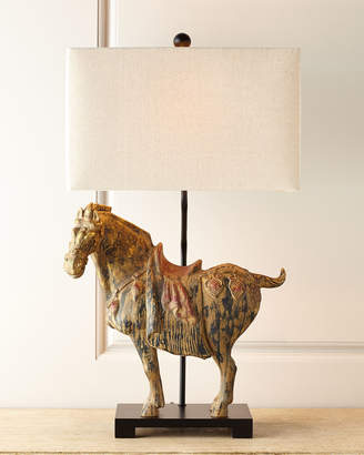Regina-Andrew Design Regina Andrew Design Dynasty Horse Lamps, Set of Two