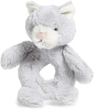 Jellycat 'Kitty' Grabber Rattle