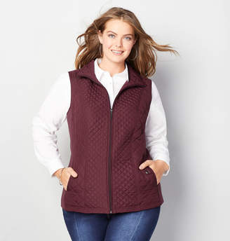 Avenue Quilted Zip-Up Vest