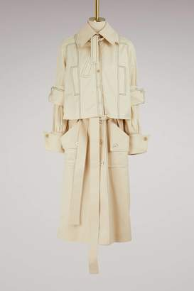 J.W.Anderson Double trench coat