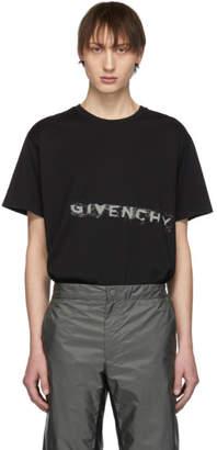 Givenchy (ジバンシイ) - Givenchy ブラック グラフィティ ロゴ T シャツ
