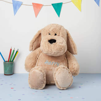 Nell Percy and Personalised Large Snuggly Cuddly Dog