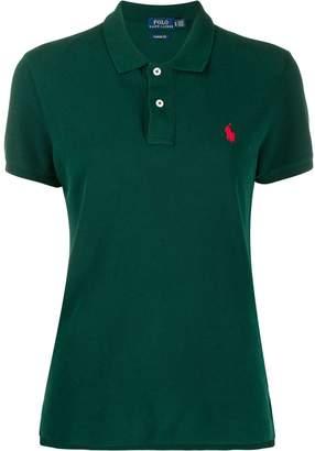 Polo Ralph Lauren button up collar polo top