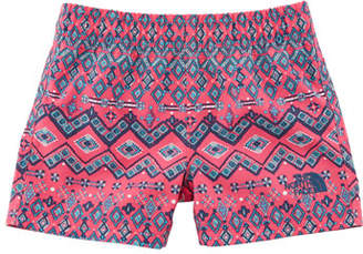 The North Face Hike-Water Ikat-Print Shorts, Size 2-4T