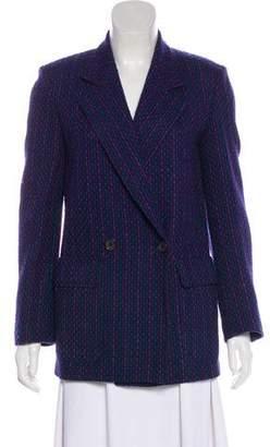Christian Dior Wool Tweed Blazer