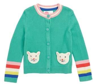 Boden Mini Pet Knit Cardigan