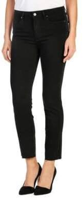 Paige Jacqueline Shadow Raw Hem Jeans