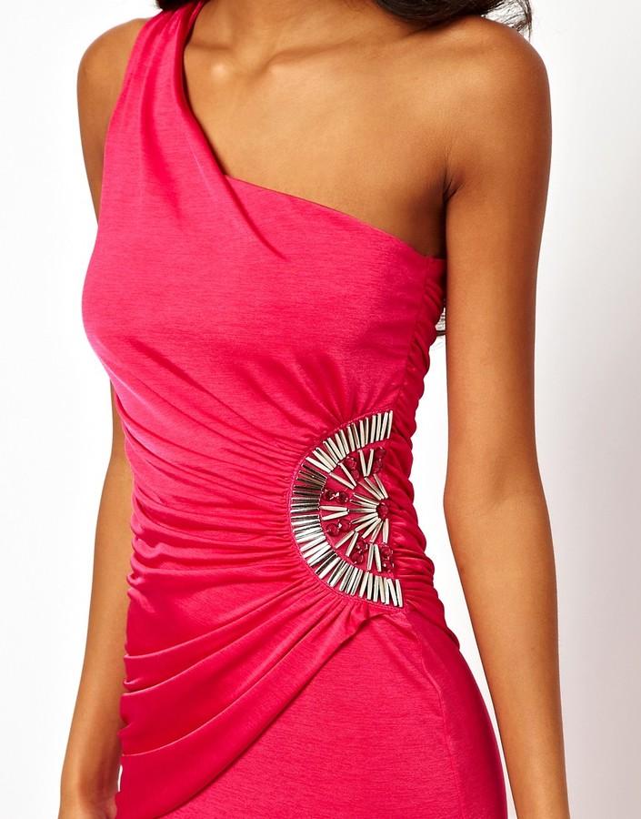 Lipsy One Shoulder Maxi Dress