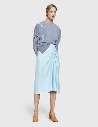 Tibi Viscose Suiting Skirt