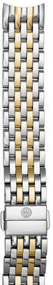 Michele Two-Tone 18mm Seven-Link Bracelet Strap