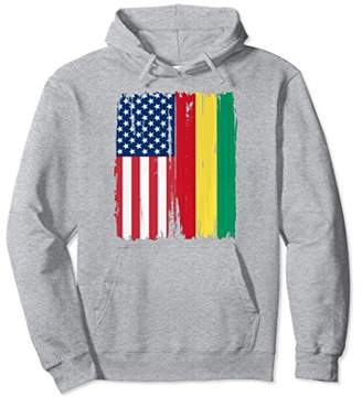 USA Guinea Flag Hoodie