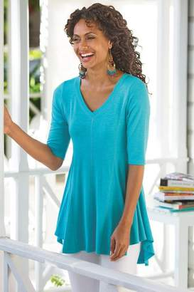 Soft Surroundings The Perfect A-Line Top