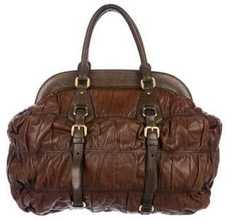 Prada Nappa Gaufre Frame Bag