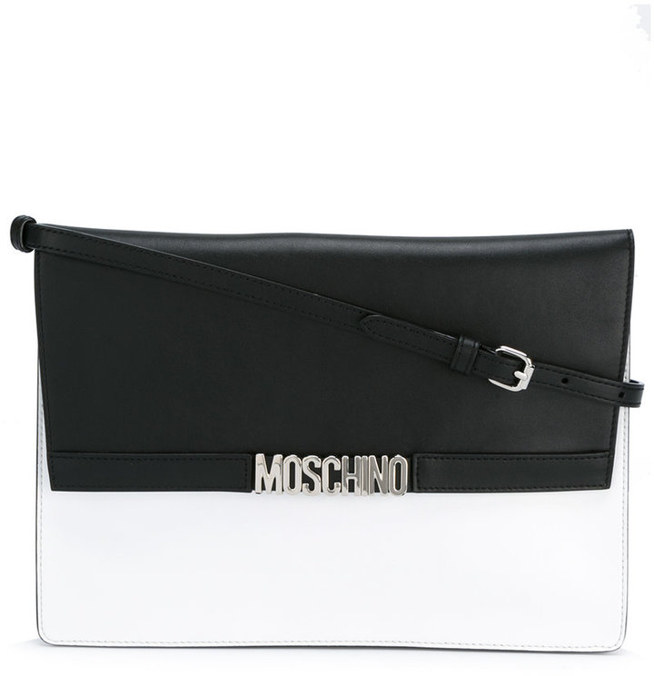 Moschino Moschino two tone shoulder bag