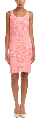 Amanda Uprichard Cubano Jacquard Sheath Dress