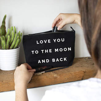 Ellie Ellie Love You To The Moon And Back Make Up Bag