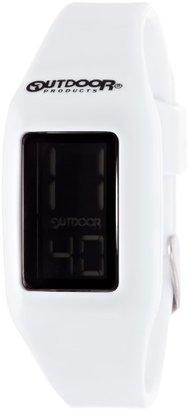 Outdoor Products (アウトドア プロダクツ) - [アウトドアプロダクツ]OUTDOOR PRODUCTS デジタルウォッチ ホワイト/ブラック ODP0401 WH/BK 【正規輸入品】