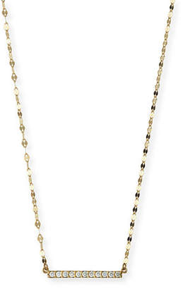 Lana Mirage Blake Diamond Bar Necklace