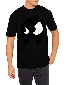 McQ Dropped Shoulder Tee With Monster Graphic