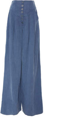 Ulla Johnson Reid Wide-Leg Trousers