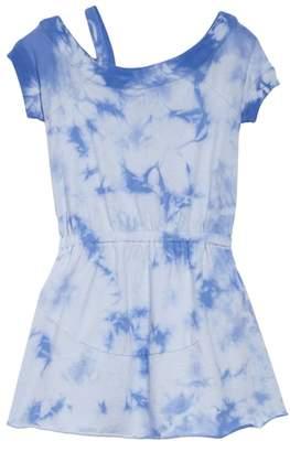 Splendid One-Shoulder Tie Dye Dress