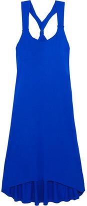 Heidi Klein - Lisbon Twist-back Jersey Dress - Bright blue $225 thestylecure.com