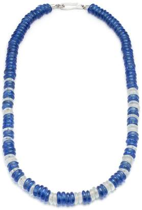 Lulu Frost George Frost Victory Morse Glass Bead Necklace