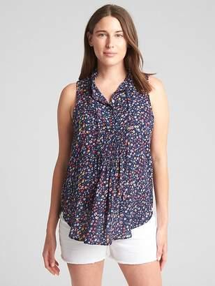 64ea5a6aa47d7 Gap Blue Maternity Tops on Sale - ShopStyle