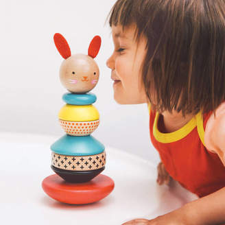 Little Baby Company Wooden Rabbit Stacking Toy
