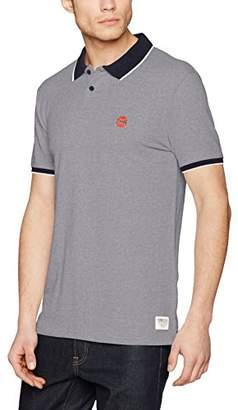 Tom Tailor Men's 2tone Polo Shirt