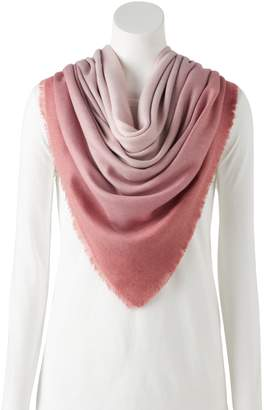 Lauren Conrad Printed Soft Touch Square Scarf