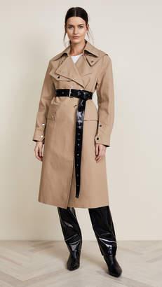 Helmut Lang Utility Mackintosh Trench Coat
