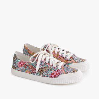 J.Crew Women's Tretorn® Marley canvas sneakers in Liberty floral
