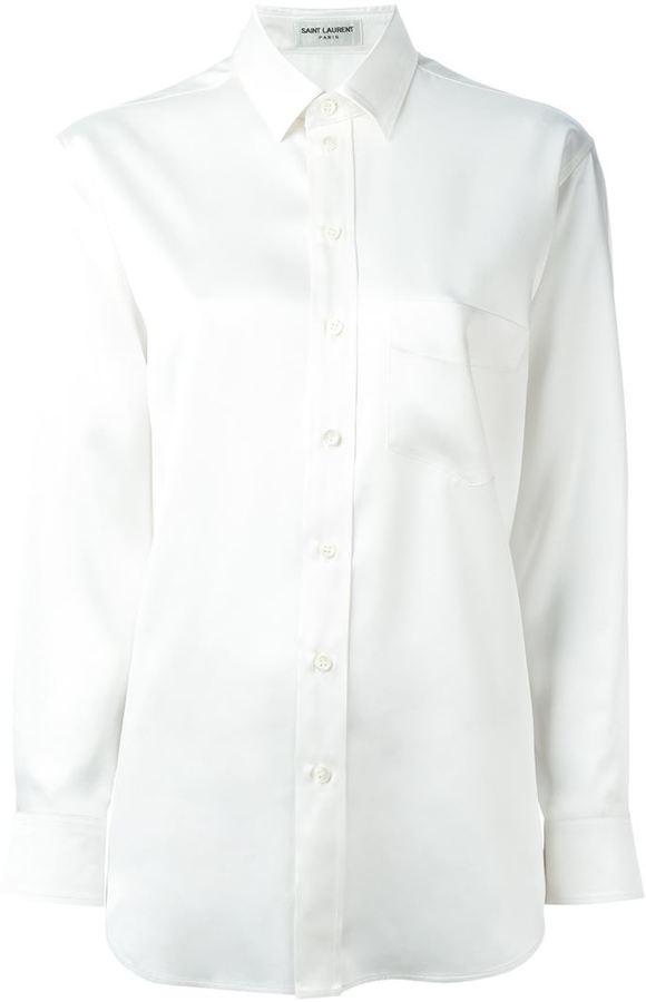 Saint LaurentSaint Laurent button front shirt