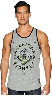 Richmond American Fighter Neo Tetris Tank Top Men's Sleeveless